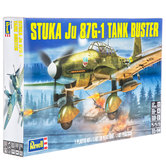 Stuka Ju 87G-1 Tank Buster Model Kit